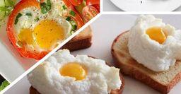 5 необычных способов приготовить яичницу на завтрак