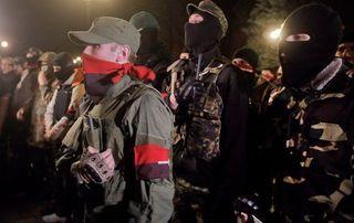 «Правый сектор» припугнул Порошенко вооруженным походом на Киев