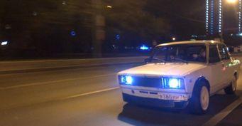 9,3 секунды до «сотни»: Автомобиль для дрифта из ВАЗ-2105 построил владелец