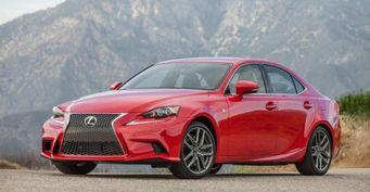 Lexus показала фейслифтинговый седан IS на рынке Австралии