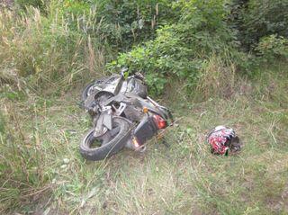 В Столбцовском районе мотоциклист без прав сбил ребенка