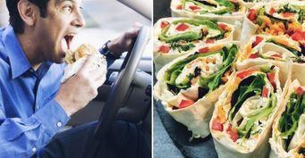 Перекус в дорогу: Три варианта домашнего обеда на скорую руку из лаваша