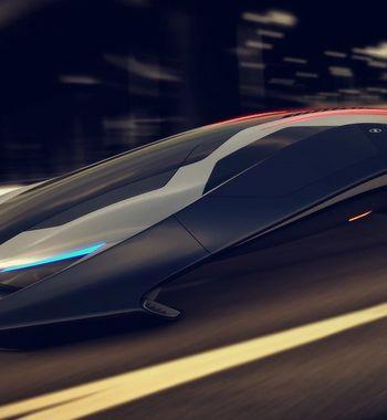 КиберТаз 2077: «Космический» концепт LADA L-Rage показан нарендерах