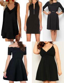 маленькое чёрное платье по типу фигуры