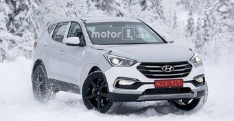 Hyundai тестирует новый кроссовер Genesis