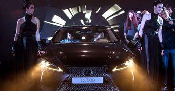 В Украине представили обновленный спорткар Lexus LC 2017 года