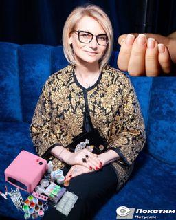 Маникюр в стиле Хромченко подчеркнет красоту рук