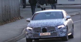 Mercedes-Benz CLS 2019 показался на дорожных испытаниях