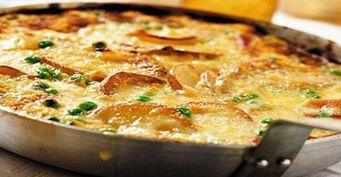 Картофельный омлет с сырной «шапкой»— Вкуснее, чем просто яйца