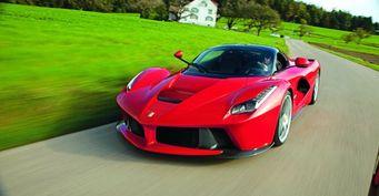 Мотор Ferrari LaFerrari выставлен на продажу за 16,8 миллиона рублей