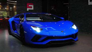 Фото: Синий Lamborghini, воспетый рэпером Rakhim водноимённой песне, источник: YouTube