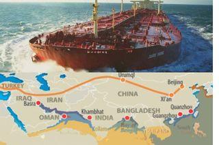 «Караван» через Иран. Источники фото: sudohodstvo.org, eadaily.com