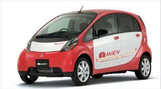 В Киров доставили первый электрокар Mitsubishi iMiev