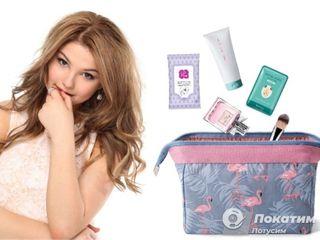 Дорожная косметичка предполагает мини-размеры или пробники Фото: автор «Покатим» Алина Морозова