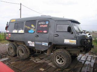 УАЗ «Внедорожник» 6×6. Фото: «Вездеходы, ВКонтакте»