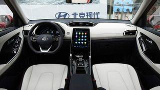 Фото: салон новой Hyundai Creta, источник: Hyundai