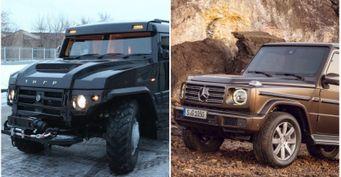 Брутальнее и почти втрое дороже «Гелика»: ГАЗ 2330 «Тигр» за 30 млн рублей показали в сети