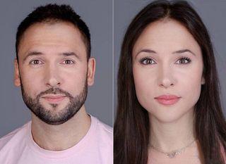 Сравнение Александра Пташенчука сего женским прообразом / Фото: pokatim.ru