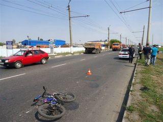 В Курске «КАМАЗ» сбил 57-летнего велосипедиста