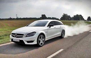 Mercedes-Benz выпустит в 2015 году универсал CLA Shooting Brake