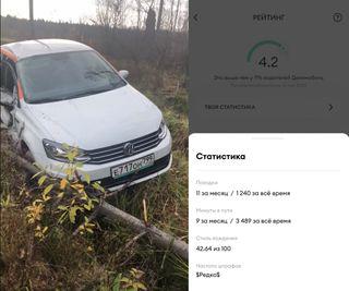 Рейтинговый водитель неразобьёт автомобиль инебросит посреди поля. Кадры: YouTube иVC.ru