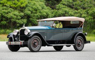Фото: 1926 Packard Eight Series 236 Sport Phaeton, источник: classicdriver.com