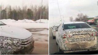 Шпионские фото с дорожных тестов на Севере России, источник: RCI News