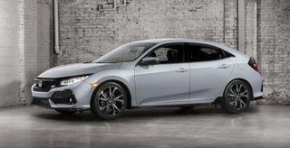 В Париже представят седан Honda Civic нового поколения