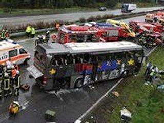В ДТП в ОАЭ пострадал автобус с 38 с пассажирами