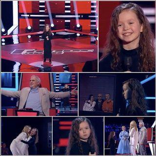 Шоу «Голос. Дети» стало первым большим испытанием для девочки. Источник изображения: Instagram@anastasia_ivanova_singer