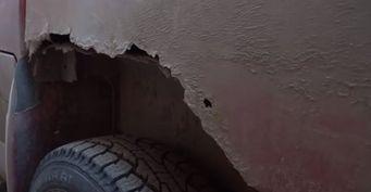 «Свиномобиль»: Сеть шокировал «убитый» УАЗ «Патриот»