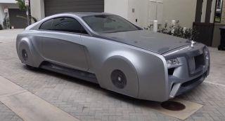 Уникальное купе Rolls-Royce Wraith для Джастина Бибера. Фото: West Coast Customs