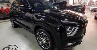 Чёрная Hyundai Creta II: Чем примечательна тюнингованная «конфетка»