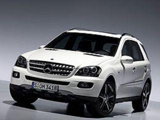Mercedes M-Class получит гибридную силовую установку