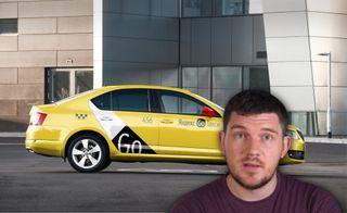«Яндекс.Такси» иСтас Васильев. Коллаж: портал «Покатим»
