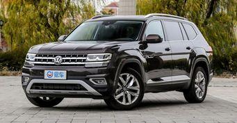 В сети рассекретили интерьер купеобразного Volkswagen Teramont