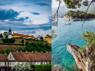 Сербия и Черногория. Фото: Unsplash и Pixabay