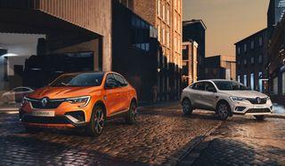 Фото: европейская Renault Arkana, источник: Renault
