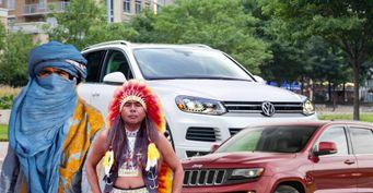 «Бомжи» и«краснокожие»: Смена названия Jeep Cherokee «убивает» судьбу VWTouareg