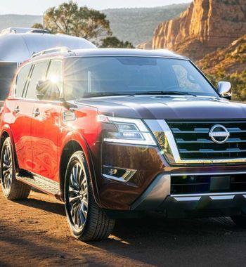 Nissan Armada 2021: «Убийца» Land Cruiser стал богаче и«злее»