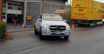 Обновлённый внедорожник Mercedes-AMG GLE 63 2019 запечатлели на тестах