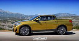 В сети показали кабриолет и пикап BMW X2