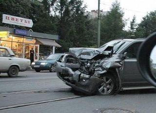 В Забайкалье в аварию попал внедорожник с молодежью