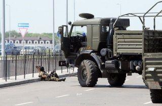 Горсовет Донецка: Ночью велись бои в районе аэропорта