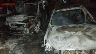 В Нижнем Новгороде за ночь сгорело два авто