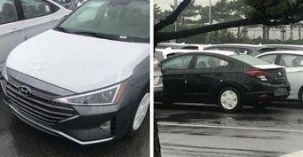 Показали всё: Раскрыта внешность нового Hyundai Elantra