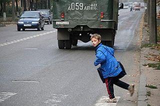 На юго-востоке Москвы сотрудник полиции сбил 9-летнего ребенка