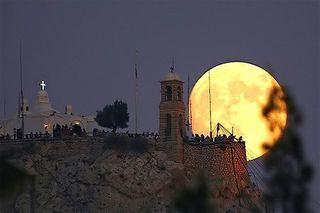 В ночь с 10 на 11 августа земляне вновь увидят гигантскую луну
