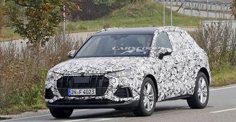 Новый кроссовер Audi Q3 2019 заснят на тестах в Европе