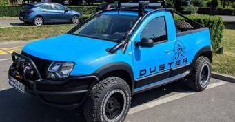 Renault Duster превратили впикап для бездорожья